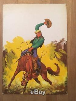 Original de couverture Rocky Rider numéro 15 (février 1975) TBE