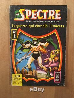 Original de couverture Spectre numéro 1 (avril 1967) TBE