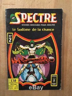 Original de couverture Spectre numéro 2 (Juillet 1967) TBE