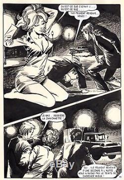 Ou Vas-tu Vicomte (dessins Musquera) Planche Originale Aredit Page 79 Pin-up