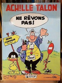 PLANCHE ORIGINAL ACHILLE TALON de GREG NE REVONS PAS! 1981- planche 28