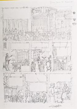 PLATEAU Alix Néron planche originale 29