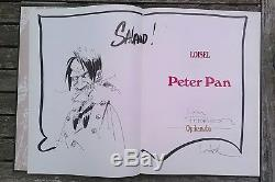 Peter Pan T 2 Opikanoba Dedicace Loisel 1992