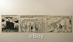 Pieds Nickelés strip original signé Pellos TBE