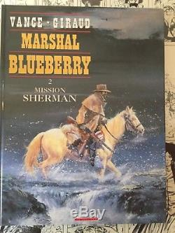 Planche Origin p18 Marshall Blueberry tome 2 par Vance et Giraud mission sherman
