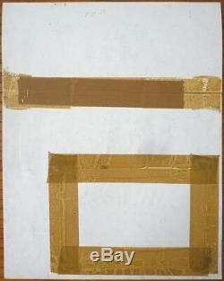 Planche originale 37 de SIDNEY & HOWELL par Odilon MORAES paru en 1997 VORTEX
