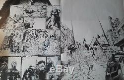 Planche originale Androïdes Tome 3 Par Emmanuel Nhieu