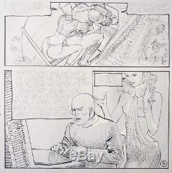 Planche originale de Erich VON GOTHA érotisme érotique