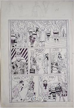 Planche originale de Robert GIGI pour ORION Le Laveur de Planète