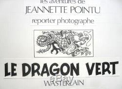 Planche originale de WASTERLAIN dessin original BD journal Spirou