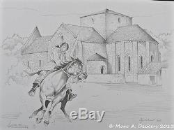 STALNER Colin Tranchand cheval original