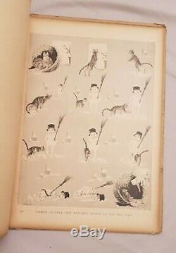 STEINLEN Album DES CHATS Dessins Théophile-Alexandre Steinlen 26 Planches 1898