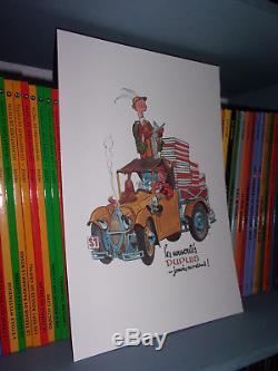 Spirou sous le manteau-Portfolio-AL-Tirage limité à 320 exemplaires