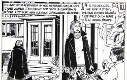 TARDI 1977 Belle planche originale n° 8 tirée de FATALE (Manchette)