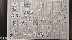 TINTIN hergé tres rare plaque imprimerie interieur de couverture annees 60.70