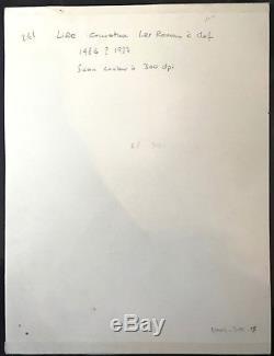 Ted BENOIT Dessin Encre de Couleur Couverture LIRE Signé Dim 24,5 32,5 Cm