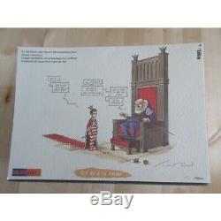 Turf La nef des fous, le petit Roy dessin original (planche originale)