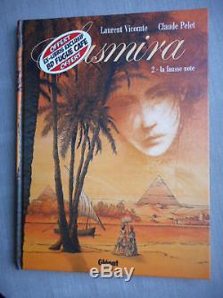 Vicomte Sasmira Tome 2 Eo Etat Neuf Avec Superbe Dedicace + Ex-libris